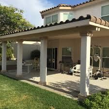 solid stucco captile patio covers las vegas ultra patios
