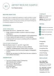 Audition Resume Templates Music Resume Sample Writing Tips Resume Genius