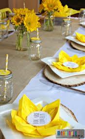 Paper Napkin Folding Flower Flower Paper Napkin Folding With Sunflower Table Decorations