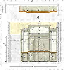 Cabinet Maker Working. Floor Plan And Elevation Cabinets By Design