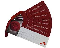 Love Vouchers Blank For You To Fill With Your Special Ious