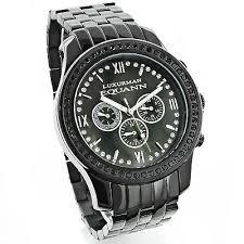 diamond watches for men 2 25ct black luxurman watch custom diamond watches for men 2 25ct black luxurman watch