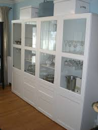 glass doors and full size furniture design along with ikea bookshelves nifty