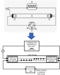 wiring diagram for led tube lights how to bypass a ballast to Strobe Light Wiring Diagram led tube light wiring diagram in modern fluorescent light wiring wiring diagram for led tube lights whelen strobe light wiring diagram