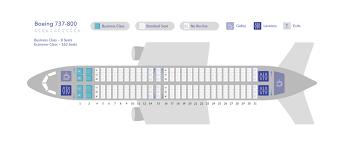 737 800 Seating Chart B737 800 Seat Map Samoa Airways