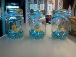 Decorating Mason Jars For Baby Shower 100 DIY Baby Shower Ideas for Boys 19