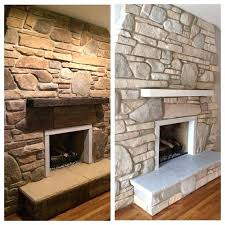 painting a sandstone fireplace painting sandstone fireplaces before and after yahoo image search results painting stacked