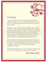 Family Christmas Letter Templates Magdalene Project Org