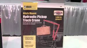Hitch Mounted Pickup Truck Crane-1000 lb. capacity from MAXXTOW ...