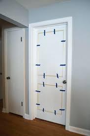 door trims mouldings door moulding trim ideas add simple moulding to door to create an elegant