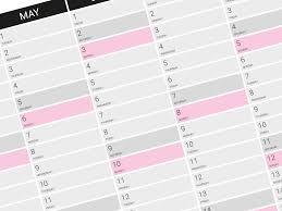 planning calendar template 2018 annual wall planner calendar template for 2018 year