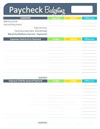 Personal Financial Budget Sheet Basic Financial Budget Template Best Money Images On Personal