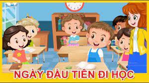 Phim hoạt hình trẻ em | Tập 1 - Ngày đầu tiên đi học | Câu chuyện ý nghĩa |  BINGO Và Các Bạn - YouTube