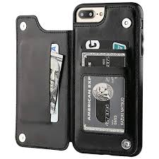 iphone 7 plus iphone 8 plus wallet case with card holder ot onetop premium pu
