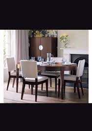 john lewis walnut garbo extending dining table 4 chairs mid john lewis dining room table interior
