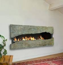 gas wall fireplace wall mount gas fireplace image ventless