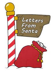 Image result for santa letters cartoon image