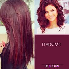 Hair Colour Maroon Haircolour Redhair Wanna