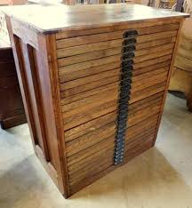 hamilton 25 drawer oak printer s cabinet all original cast iron hamilton hardware sectioned drawers great for small collectibles
