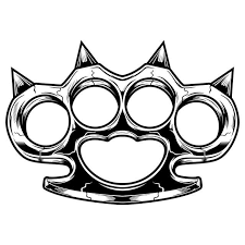 No physical product will be sent. Monochrome Brass Knuckles Vozeli Com
