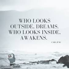 Carl Jung Quotes On Dreams Best of Who Looks Outside Dreams Who Looks Inside Awakens Carl Jung