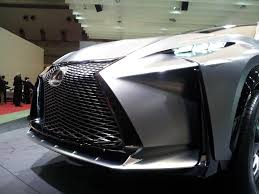 Lexus LF-NX Turbo Advanced Crossover Concept: Tokyo Motor Show ...