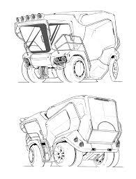 1212x1600 truck bao chenda on artstation