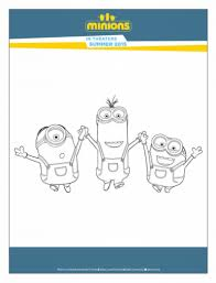 Small Picture Minions Free Printable Activities and Coloring Pages Showing Our