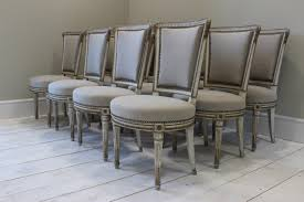 french dining chairs. Wonderful Set Of 12 French Neoclassical Dining Chairs E