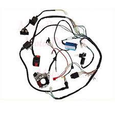 full electrics wiring harness coil cdi for 150 200 250 300cc atv full electrics wiring harness cdi coil 50cc 70 110cc atv quad bike buggy go kart