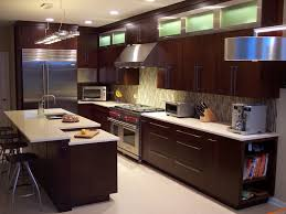 flat panel kitchen cabinets veneer kitchen cabinets with dark brown paint colors and light