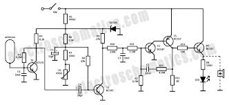 electrical live wire detector electrical live wire detector circuit schematic