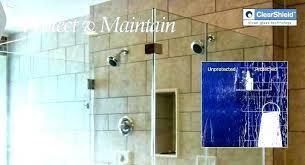 shower glass cleaner clean doors with vinegar door awesome how diy best