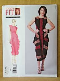 Vogue Dress Patterns Awesome Vogue Today's Fit By Sandra Betzina Original 48 Dress Pattern All