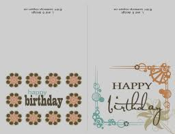 Birthday Card Printouts Under Fontanacountryinn Com