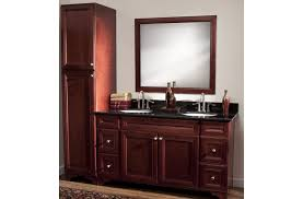 Real wood bathroom vanities Wayfair Cherry Avalon Bathroom Cabinets Solid Wood Cabinets Cherry Avalon Bathroom Cabinets Solid Wood Cabinets
