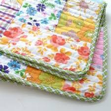 Corner Quilt Labels - Video Tutorial - & Vintage sheet quilt - love the curved corners and plaid binding - Chloë  Owens: May Adamdwight.com
