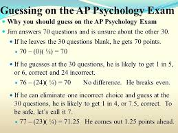 ap psychology essay guessing on the psychology exam ap psychology  ap psychology essay guessing on the psychology exam ap psychology response questions development
