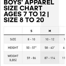 Size Chart Adidas Kid Boys Small Chicago Bulls Jersey Rose