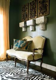 olive green decor chic room living decorations