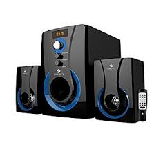 speakers in amazon. zebronics sw2490 rucf 2.1 channel multimedia speakers in amazon