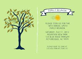 Printable Family Reunion Invitations Reunion Invitation Template Family Tree Reunion Invitation