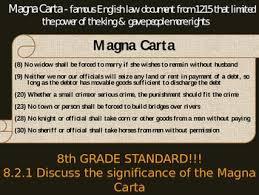 Magna Carta Vs U S Constitution Vs Bill Of Rights Magna