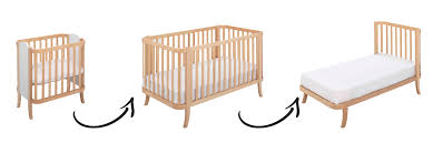 Newborn Bedroom Furniture Wooden Baby Bed Crib Cradle Manhattan By Hugs Factory At My