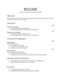 Resume Format For Fresher Sarahepps Com