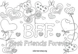 Small Picture The Word Bff Coloring Pages vonsurroquen