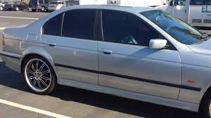 Coupe Series 528i 2000 bmw : Black Out Chrome Window Trim And Door Trim 1997-2000 BMW 5 SERIES ...