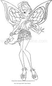 Disegno Di Aisha Tynix Winx Club Da Colorare