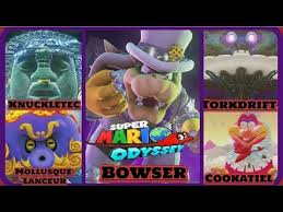 Mario Cappy Have To Stomp The Wedding Planners Of Bowsers