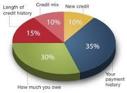 Credit Score Pie Chart Credit Score Pie Chart The Bank Of St Elizabeth